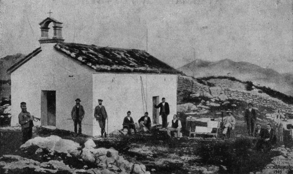 Chiesetta sul S.Simeone 1919
