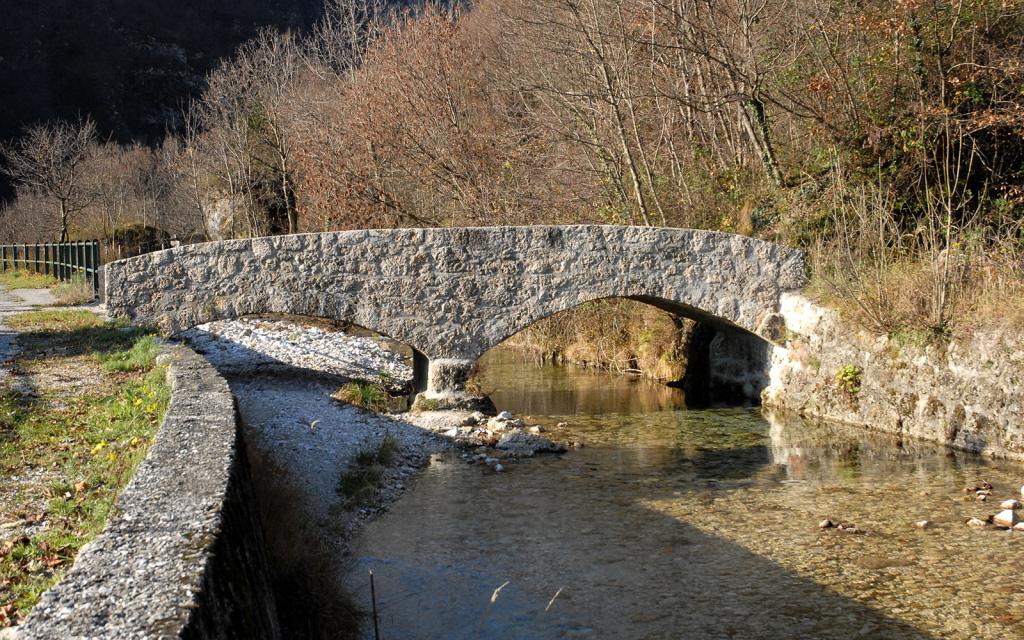 Ponte romano Somplago