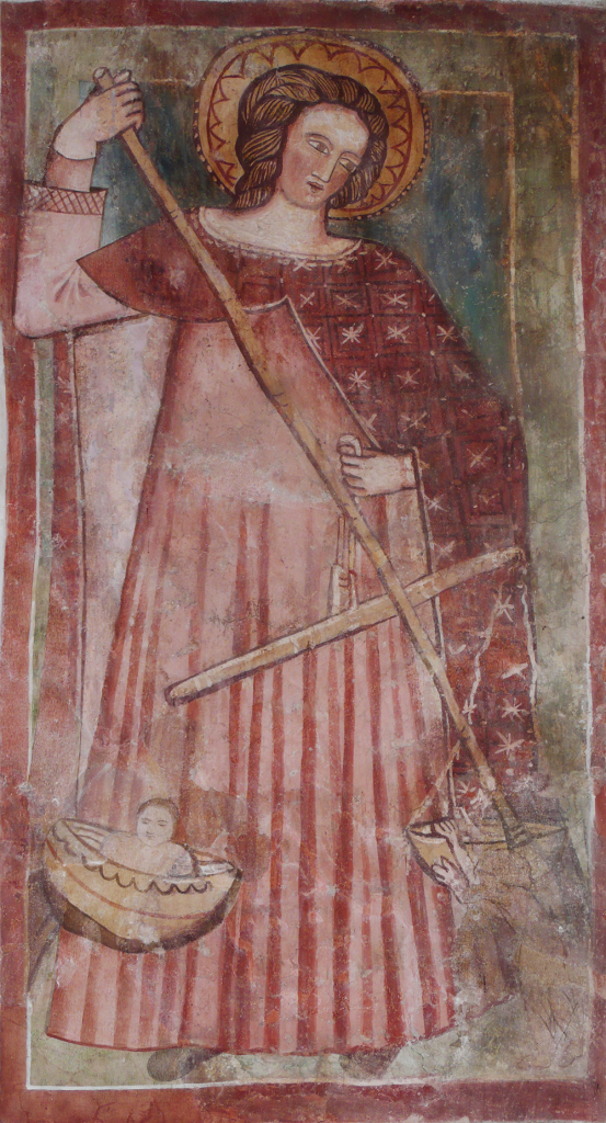 affresco chiesetta S. Michele