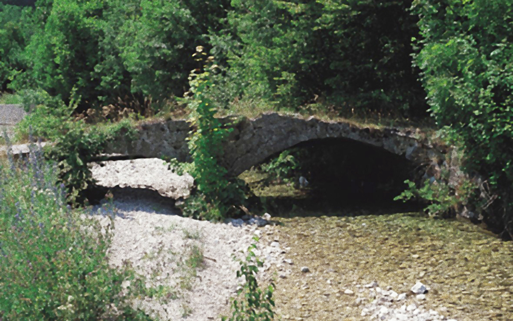 ponte romano prima restauro